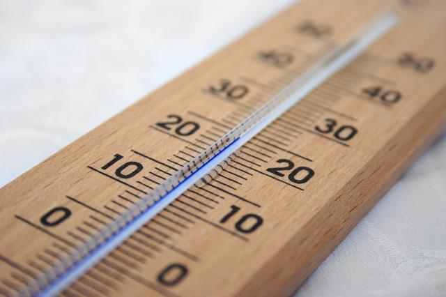 Réglages des températures du thermostat