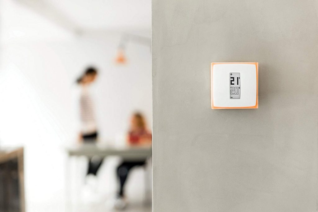 Design du thermostat connecté Netatmo